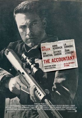 Filmposter 'The Accountant'