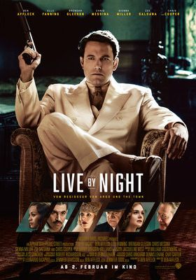 Filmposter 'Live By Night (2017)'