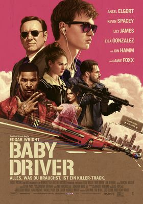 Filmposter 'Baby Driver'