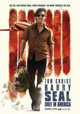 Filmposter 'Barry Seal: Only in America'