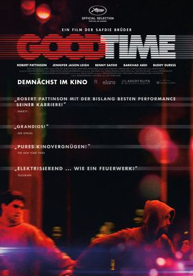 Filmposter 'Good Time (2017)'