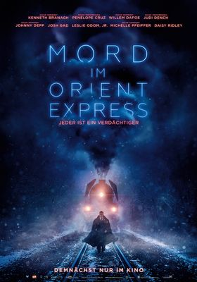 Filmposter 'Mord im Orient-Express (2017)'