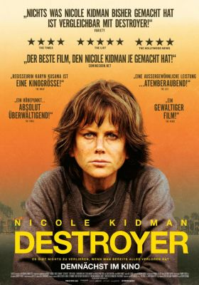 Filmposter 'Destroyer (2019)'
