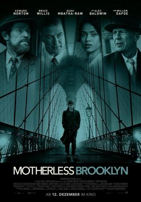 Filmposter 'Motherless Brooklyn'