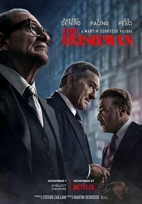Filmposter 'The Irishman (2019)'